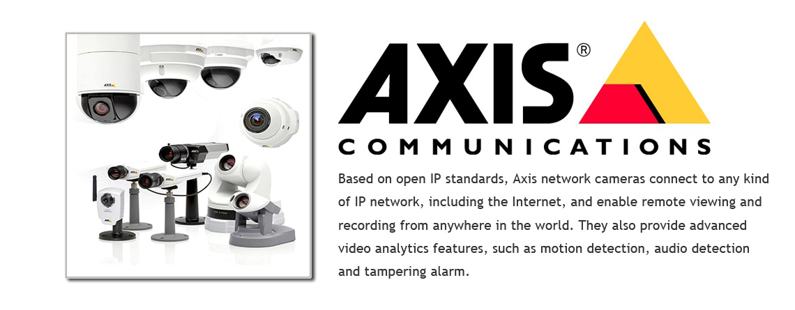 axis communication video